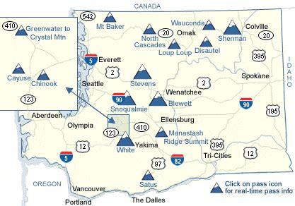 wsdot statewide mountain pass map
