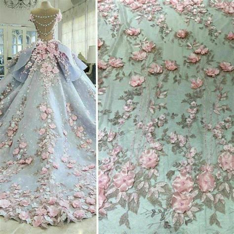 beaded fabric for dresses lace fabric beaded bridal lace fabric tulle 3d