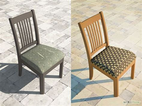 How To Reupholster Chairs Yourself by How To Reupholster A Dining Chair Seat