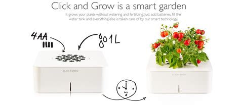 Click And Grow by Review Click And Grow Smart Gardens That Tend