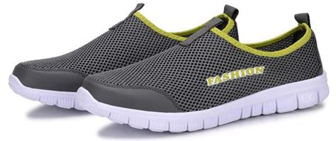Sepatu Kicker Slip On Cowok sepatu slip on kasual pria size 39 gray jakartanotebook