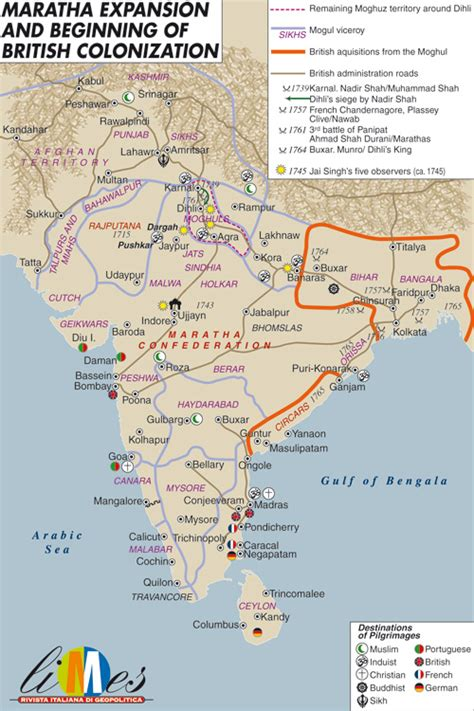 Martha Expands Empire by Map Of Maratha Empire