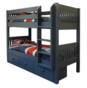Bunk Loft Beds Majestical Painted Bunk Beds Furniture4yourhome