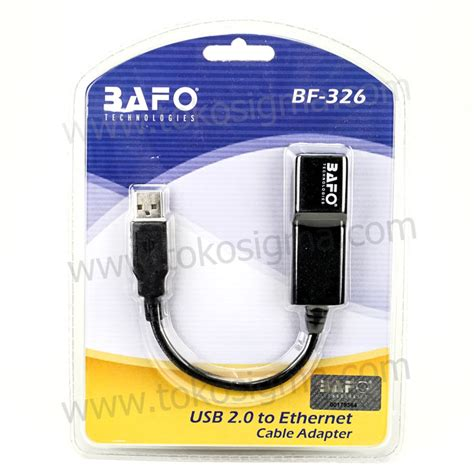 Bafo Hdmi Splitter 1 2 V14 bafo bf 326 usb 2 0 to lan ethernet cable adapter toko sigma