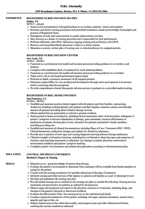 resume format for nurses 2013 attractive registered resume sle image collection universal for resume writing