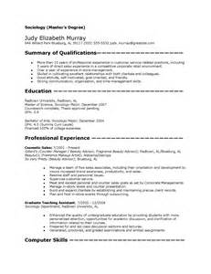 general sociology master s template