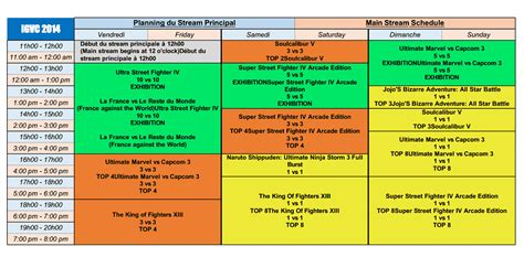 Uh Professional Mba Schedule by Ivgc 2014 Schedule Image 4