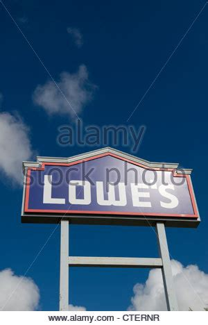 a lowe s retail store stock photo royalty free image