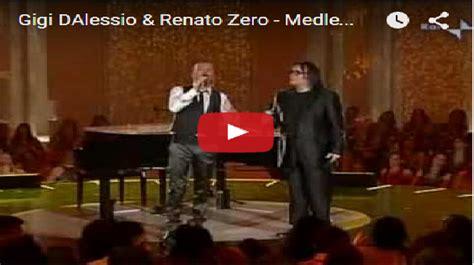 Vecchio Renato Zero Testo - l per la musica gigi dalessio renato zero