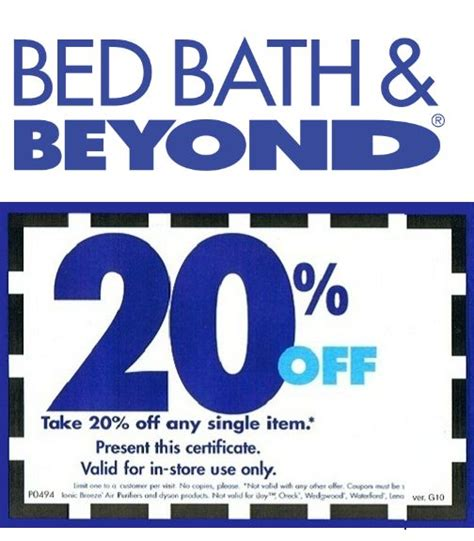 bed bath beyond 20 off get a 20 off bed bath beyond coupon when you sign up