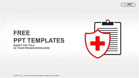 powerpoint design health flat medical icon medical history on a white background