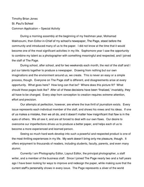 Unique Essay by Unique Sle Harvard Essay Resume Daily