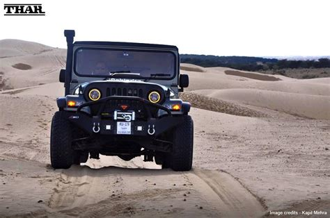 thar jeep modified in kerala modified mahindra thar mm540 in india zigwheels forum