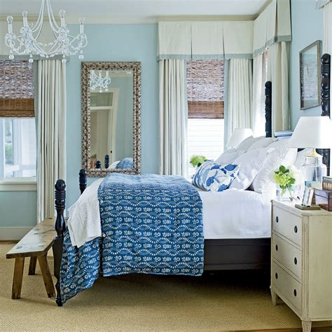 coastal living bedrooms soothing blue beach bedroom 20 beautiful beach cottages