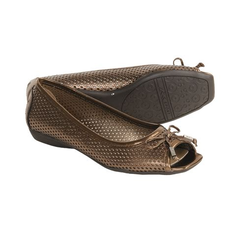 ak sport shoes ak klein sport illusion mesh shoes leather flats
