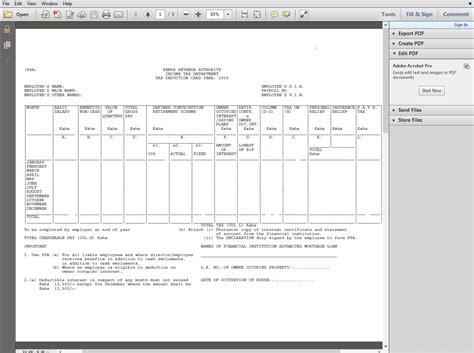 new bir form 1701 excel 1701 bir form download