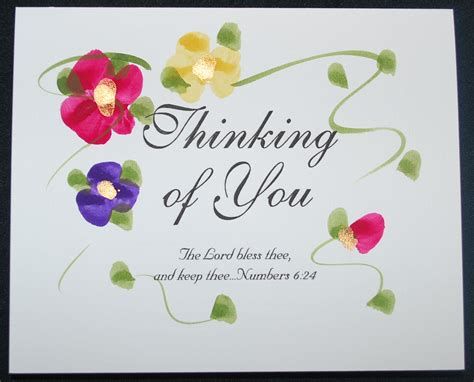Thinking Of You Gift Card - thinking of you 10 cards by christine pictures