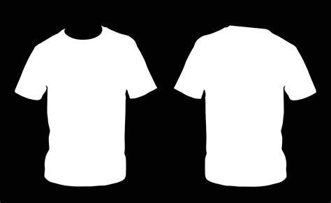 white t shirt front and back template blank front and back black t shirts studio design