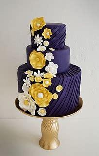 #dark navy blue wedding cake wedding ideas for brides