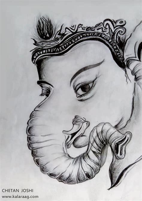 Ganesh Ji Sketches by Beautiful Sketch Of God Ganesh Ji Information About