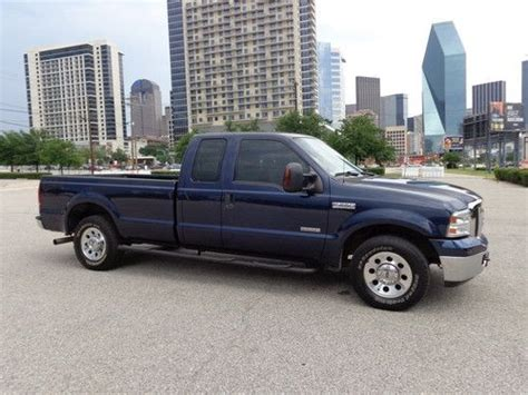 ford f250 2wd sell used 1 owner tx 06 ford f250 xlt diesel 2wd extcab