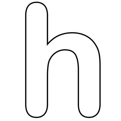 H For Coloring Page by Letter H Coloring Pages Coloringsuite