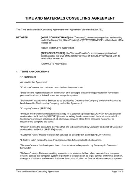 sales consultant contract template 25 consulting agreement sles sles and templates
