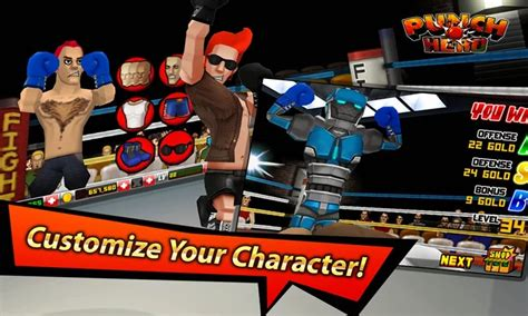 mod game punch boxing punch hero modded v1 3 5 working unlimited stars gold apk