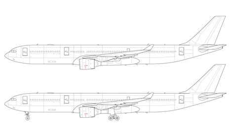 airliner templates norebbo