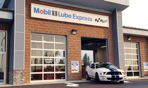 mobil lube changes mobil 1 lube express groupon