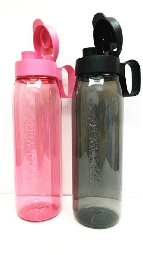 Tupperware Eco Black 750ml tupperware 2 h2go eco water bottle end 3 21 2017 6 15 pm