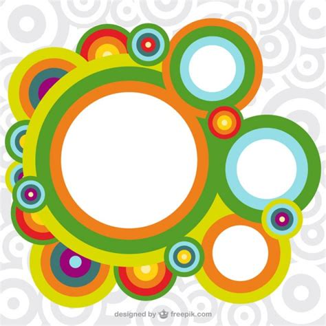 editar imagenes con vectores fondo c 237 rculos de colores descargar vectores gratis