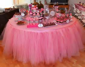 tulle table tutu skirt you colors by baileyhadaparty