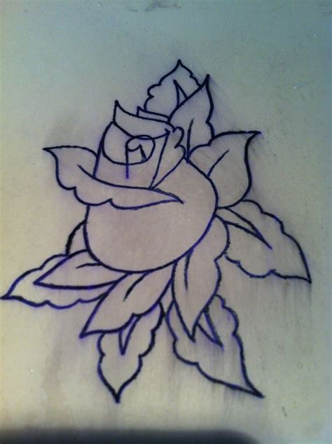 outline rose tattoos outline www imgkid the image kid has it