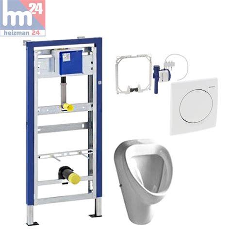 wc mit wasserstrahl und föhn komplett set geberit duofix basic mit urinalsteuerung
