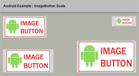 android imagebutton how to resize scale an imagebutton in android