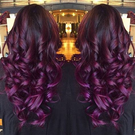 the gallery for gt purple mermaid ombre hair