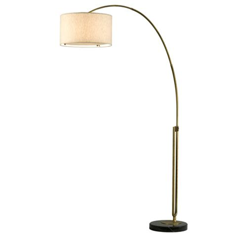 Discontinued Ceiling Fans by Nova Lighting 2110104 Viborg Arc Floor Lamp