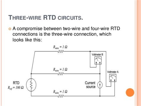 3 wire rtd wiring diagram color 4 wire resistance diagram
