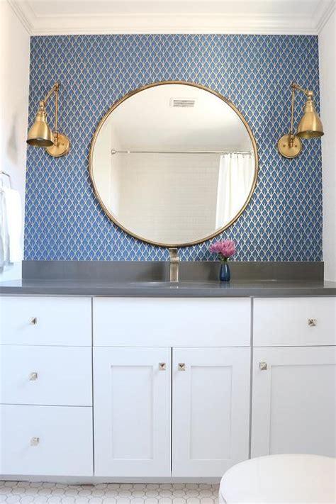 gold mirror bathroom gray and gold bathroom design ideas