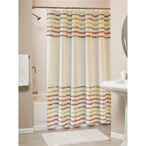 greenland home fashions bella shabby chic ruffled shower