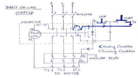 D O L Circuit Diagram Wiring Diagram