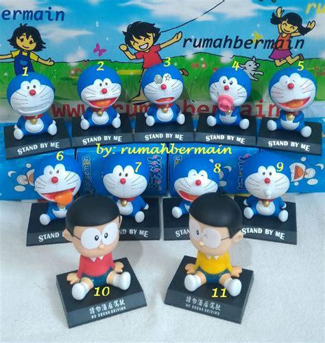 Dijamin Boneka Dashboard Kepala Goyang Doraemon jual hiasan aksesoris pajangan mobil doraemon nobita boneka goyang per rumah bermain