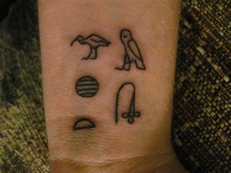 hieroglyphic tattoos tattoos are the things in the world i will stand beside