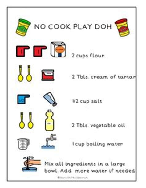 printable boardmaker recipes 1000 images about autism resources on pinterest