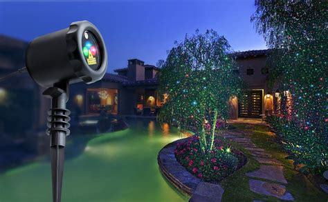 outdoor laser lights amazon amazon com mycarbon outdoor laser light projector static