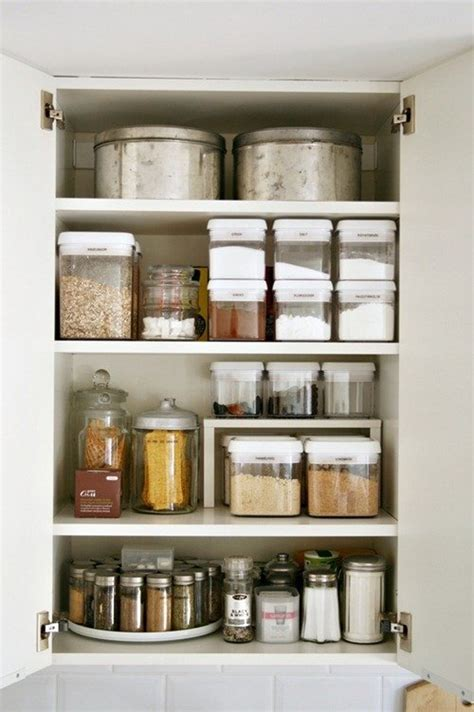 Ideas For Organizing Kitchen Cabinets by 15 Beautifully Organized Kitchen Cabinets And Tips We