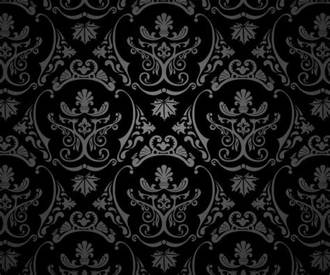 magnificent or egregious damask wallpaper anyone damask black silver 183 176 183 textures patterns
