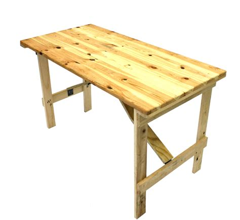 small sturdy folding table wooden trestle table 4 by 2 6 quot be furniture
