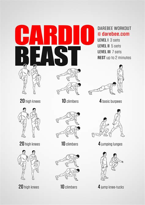 cardio beast workout